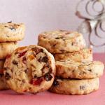 Бисквитное печенье с сухофруктами