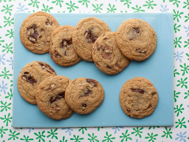 Фото Потрясающее печенье с кусочками шоколада