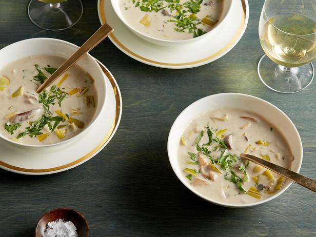 Фото Крем-суп из лесных грибов