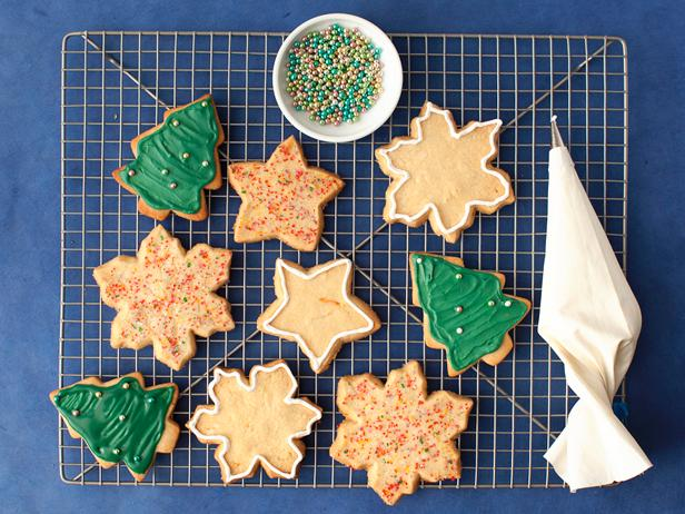 Фото Сахарное печенье с королевской глазурью