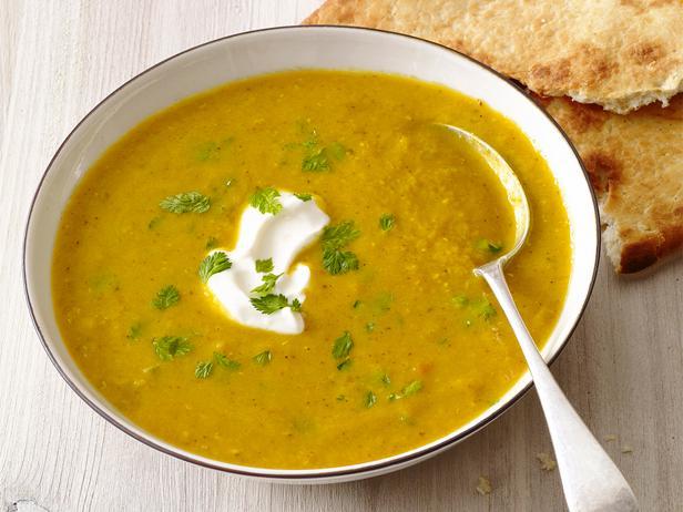 Чечевичный суп с пряностями