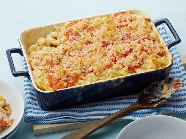 Макароны с сыром в духовке рецепт