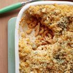 Макароны с курицей и сыром под соусом «Баффало»