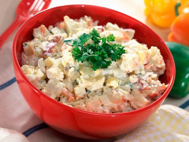 Картофельный салат по-новому