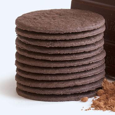 Фото Шоколадное вафельное печенье