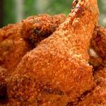 Запеченная курица в маринаде из пахты