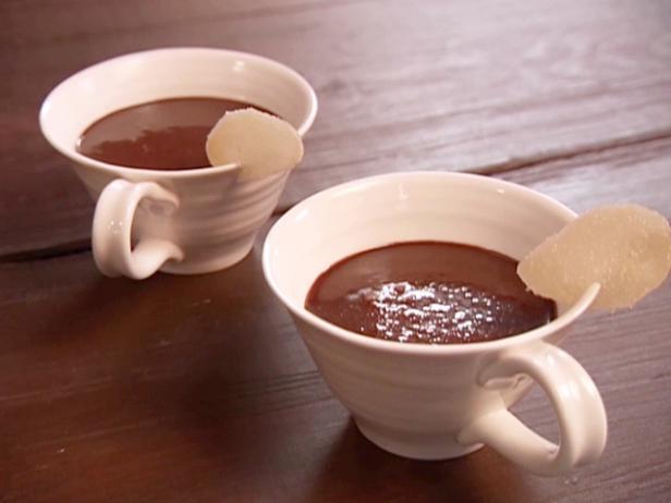 Малиновый горячий шоколад