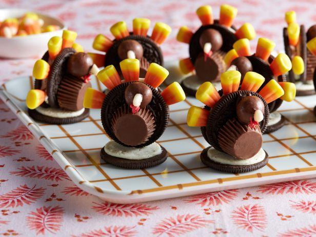 Пирожные «Индюшата» на День благодарения