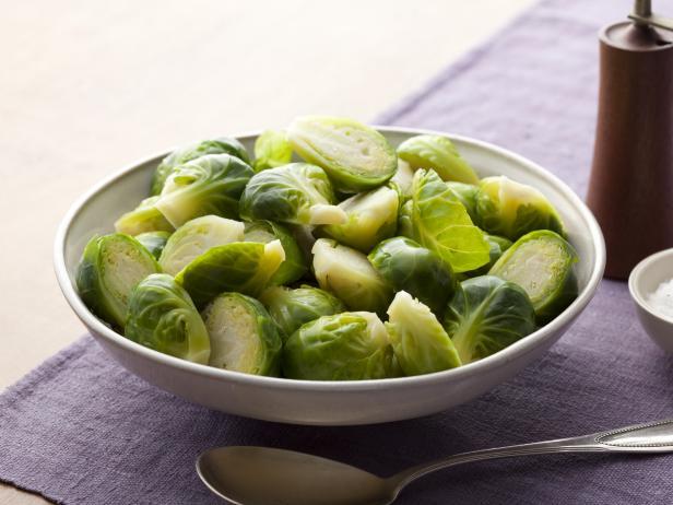 Фото Вареная брюссельская капуста – базовый рецепт