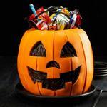 Торт-ведерко для конфет на Хэллоуин