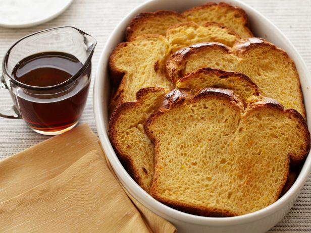Хлебный пудинг к завтраку