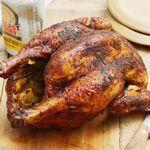 Курица на банке с соусом барбекю из колы