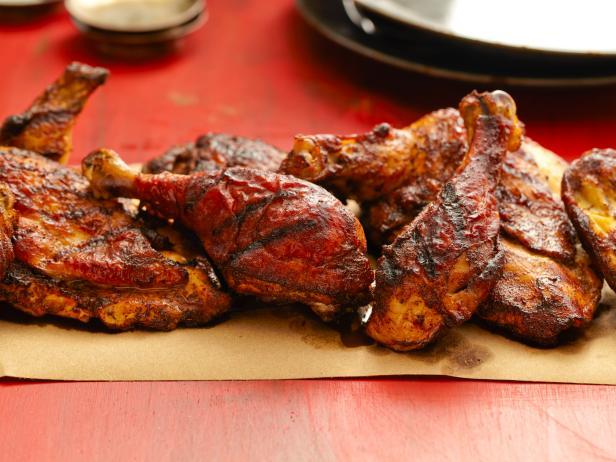 Курица гриль в маринаде