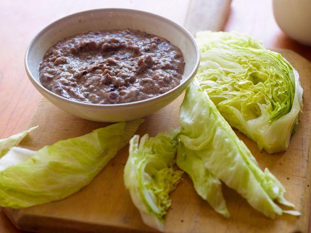 Хумус из черной фасоли