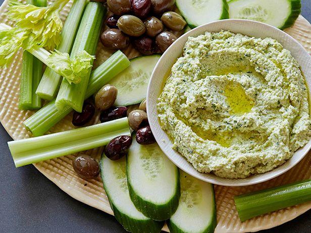 Фото Хумус из соевых бобов эдамаме