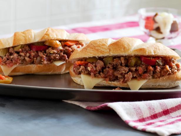 Фото Сэндвичи «Неряха Джо» (Слоппи Джо) по-итальянски