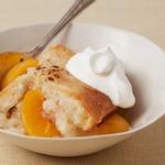 Американский пирог «Персиковый коблер»