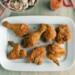 Жареная курица во фритюре по-южноамерикански