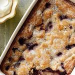 Американский пирог «Черничный коблер»