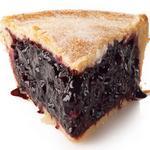 Закрытый черничный пирог
