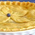 Черничный пирог «Деревенский»
