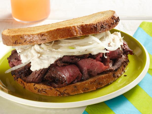 Сэндвич с говядиной «Мужской»