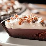 Пирог с шоколадным и кофейным кремом