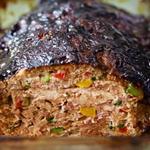 Мясной хлеб из индейки и овощей с глазурью