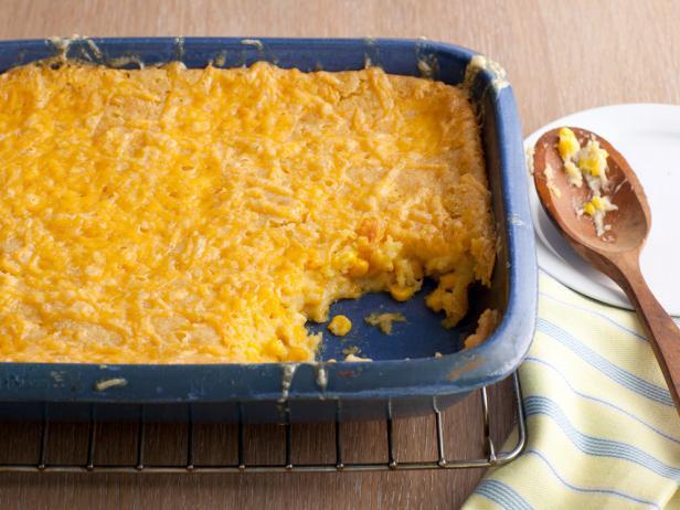 Фото Кукурузная запеканка под сырной корочкой
