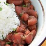 Красная фасоль с мясом и рисом