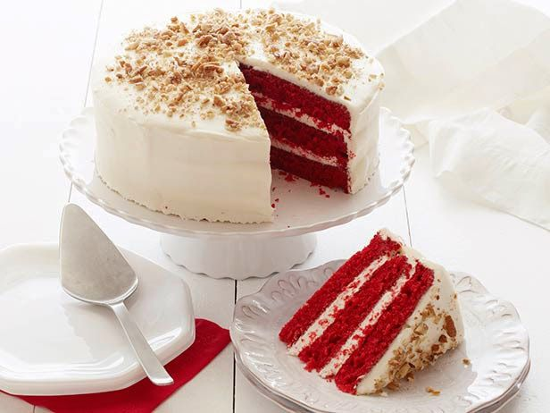 Фото Классический торт «Красный бархат»