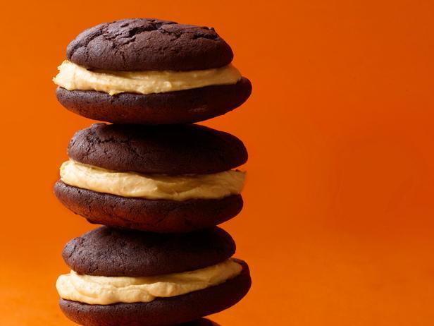 Бисквитное пирожное «Вупи пай» с тыквой