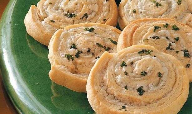 Закуска с сыром из слоеного теста «Пальмира»