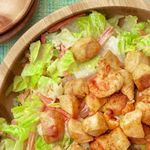 Салат с курицей баффало и голубым сыром