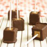 Фото Шоколадные конфеты из чизкейка
