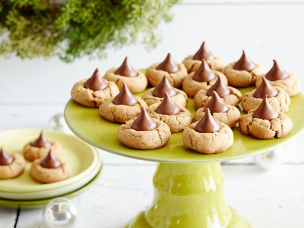 Фото Арахисовое печенье с джемом и шоколадом