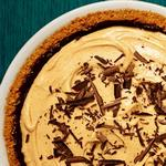 Пирог «Чизкейк» с арахисовой пастой и шоколадом