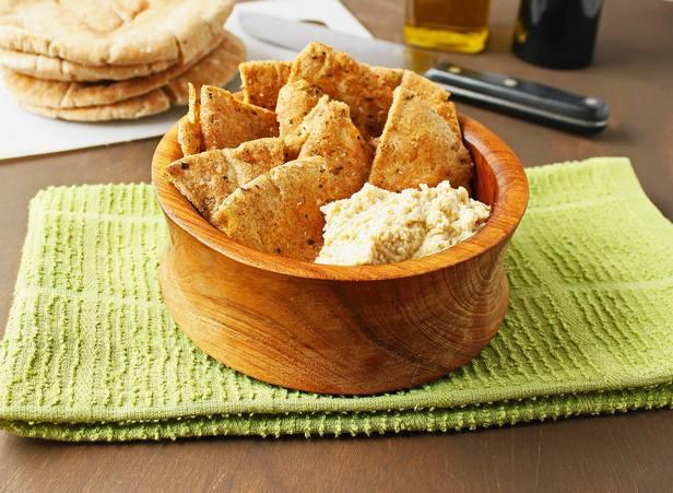 Домашние чипсы из питы