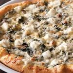 Пицца с грибами