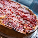 Пицца по-чикагски (в глубокой форме)
