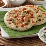Уттапам – плоский рисовый хлеб из южной Индии