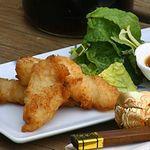 Жареная рыба махи-махи в кисло-сладком соусе