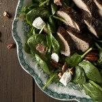 Свинина со шпинатом по-гавайски