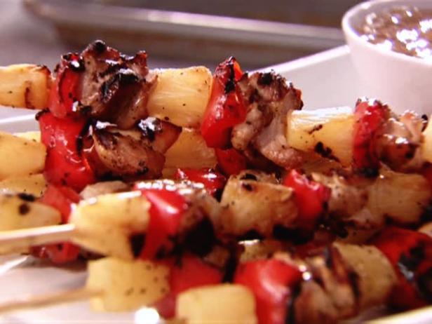 Кебаб из курицы в кисло-сладком соусе