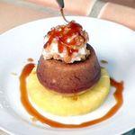 Праздничный бананово-кокосовый кекс