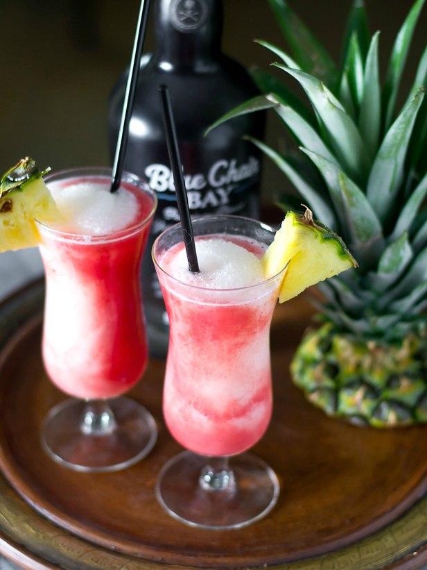 Гавайский коктейль «Поток лавы»