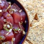 Гавайский рыбный салат-закуска «Поке»