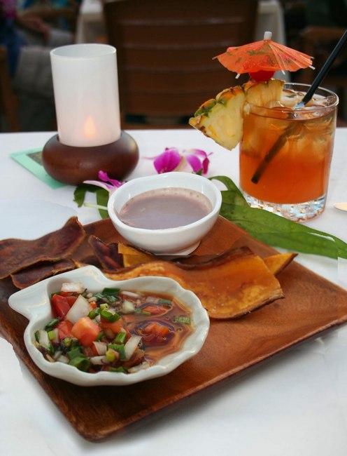 Фото Гавайское национальное блюдо «Пои»