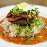 Гавайское блюдо «Локо моко»