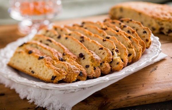 Ирландский содовый хлеб со смородиной